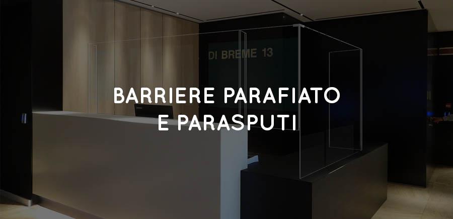 banner titolo barreiere parafiato e parasputi